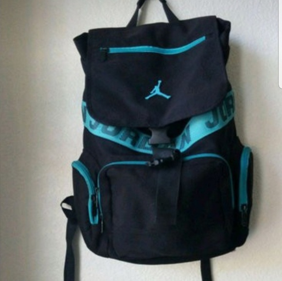 c7e745eaf12 Jordan Bags   Black And Blue Air Basketball Backpack   Poshmark